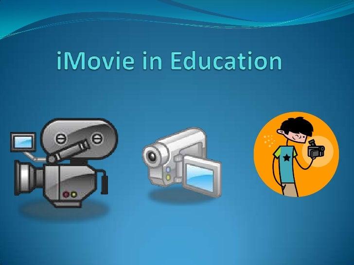Menu    1. Title Slide    2. Menu Slide    3. iMovie in Education    4. Summary #1    5. Summary #2    6. Personal R...