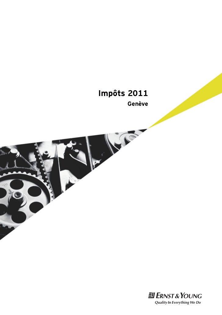 Impôts 2011      Genève               t
