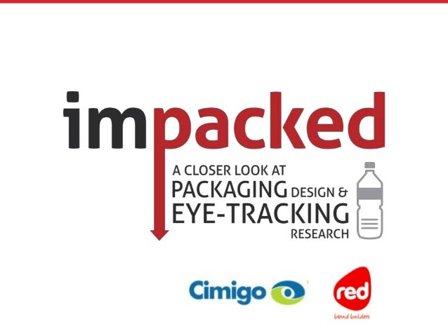 How to improve your packaging design using eye tracking research