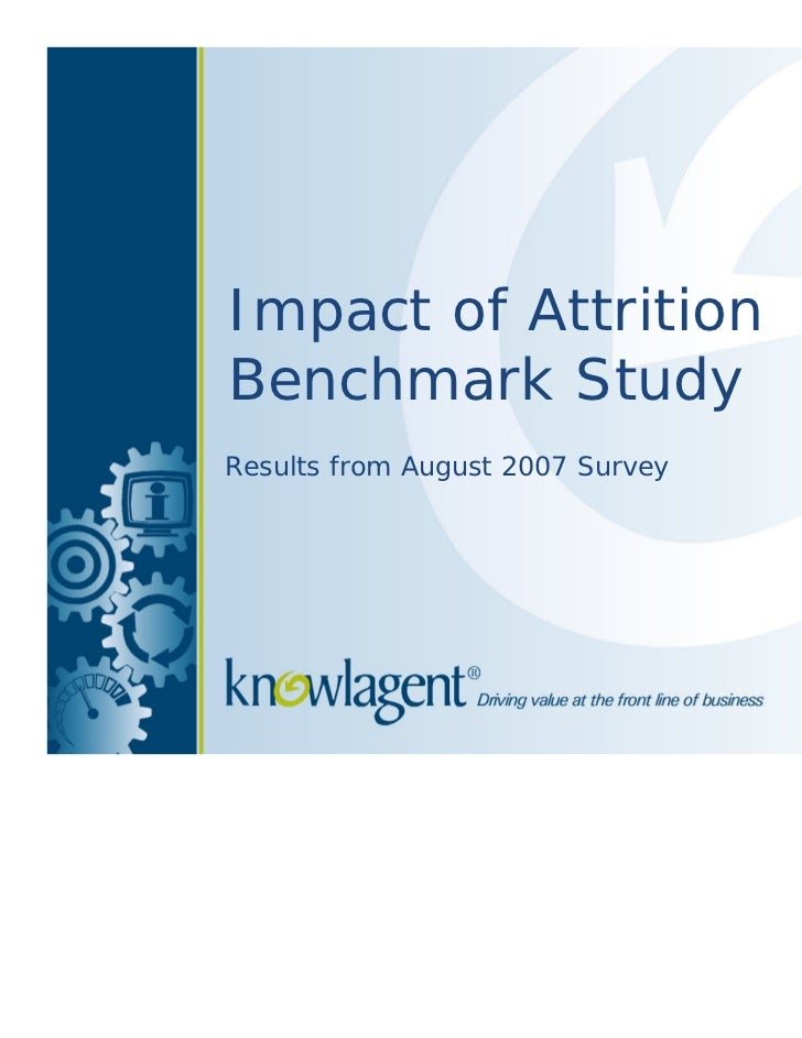 Impact of Attrition on the Call Center
