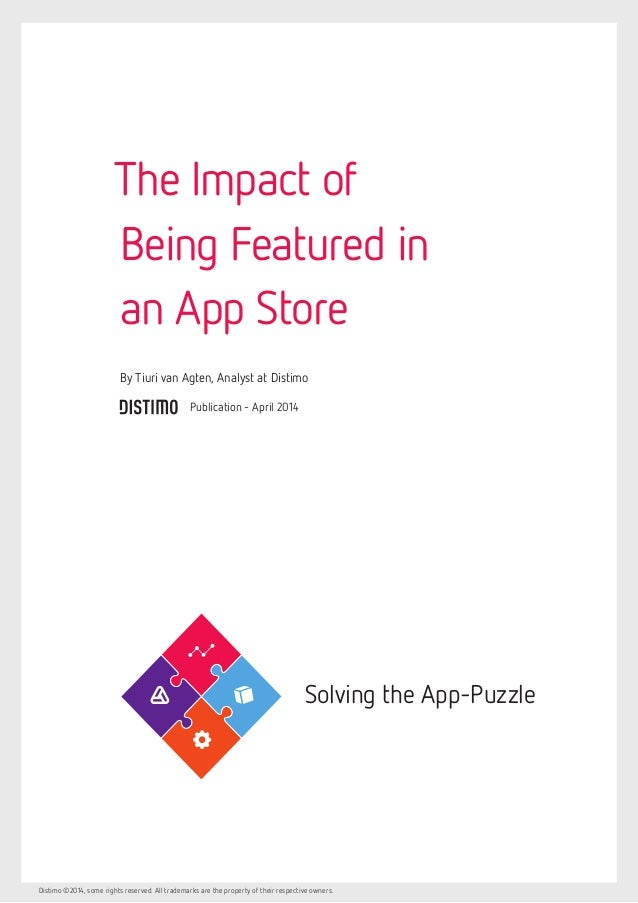 The Impact of Being Featured in an App Store