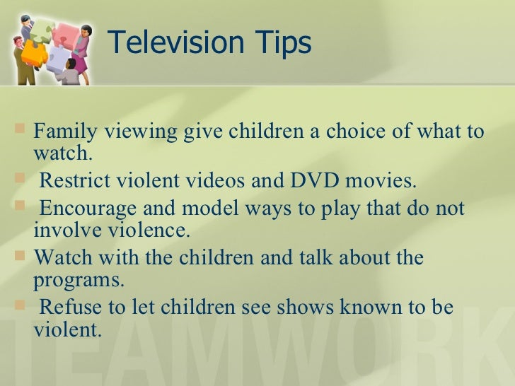To what extent do violent television programmes have a negative effect on children?