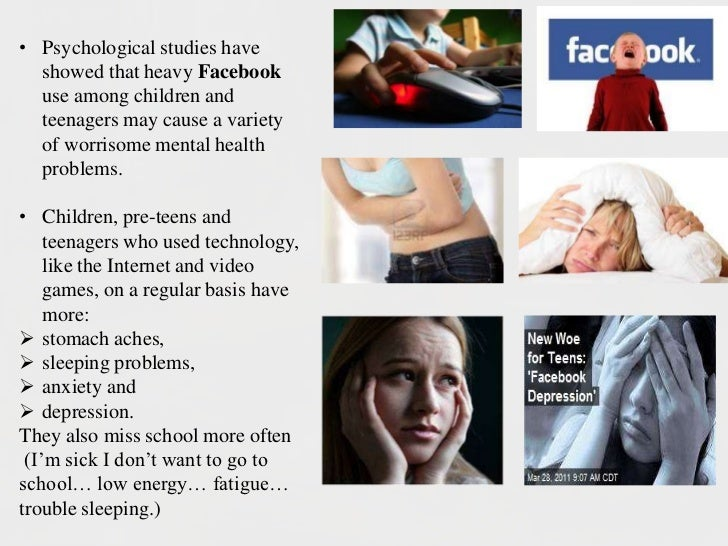 effects of internet to teenagers