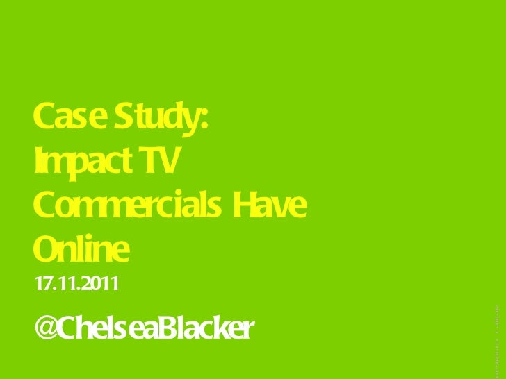 Impact of TV Commercials Online | SEO Case Study