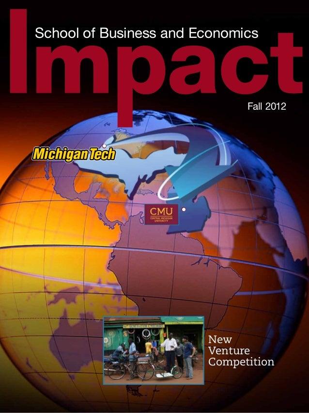 Impact Magazine, School of Business and Economics, Michigan Technological University