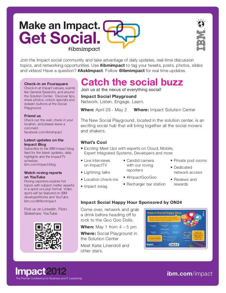 Impact 2012 Social Flyer
