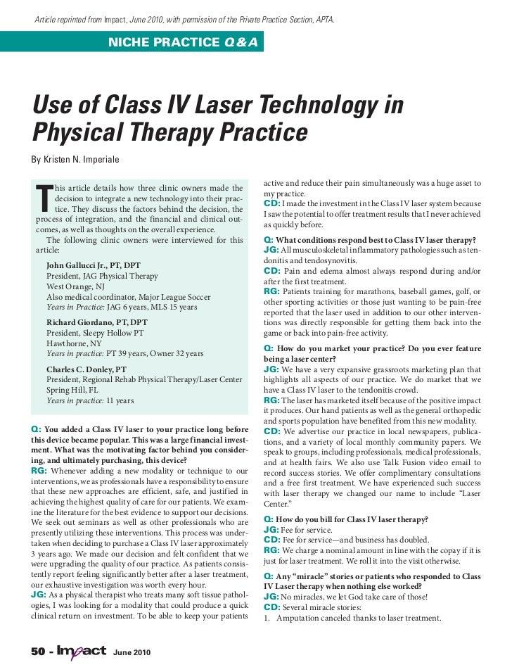 Deep Tissue Laser Q & A