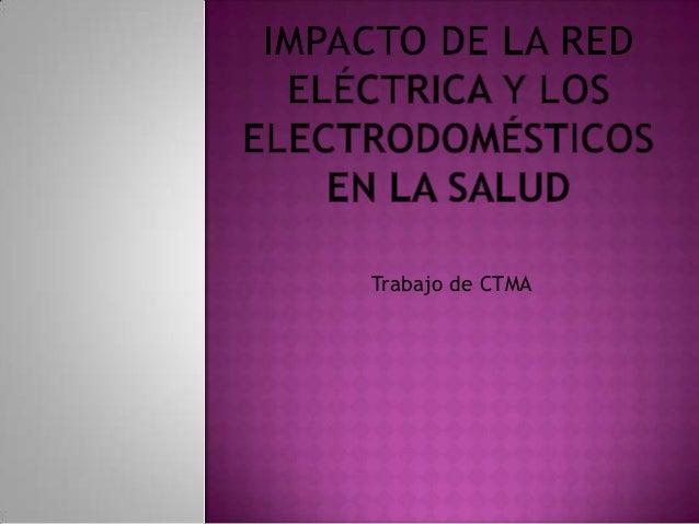 Trabajo de CTMA