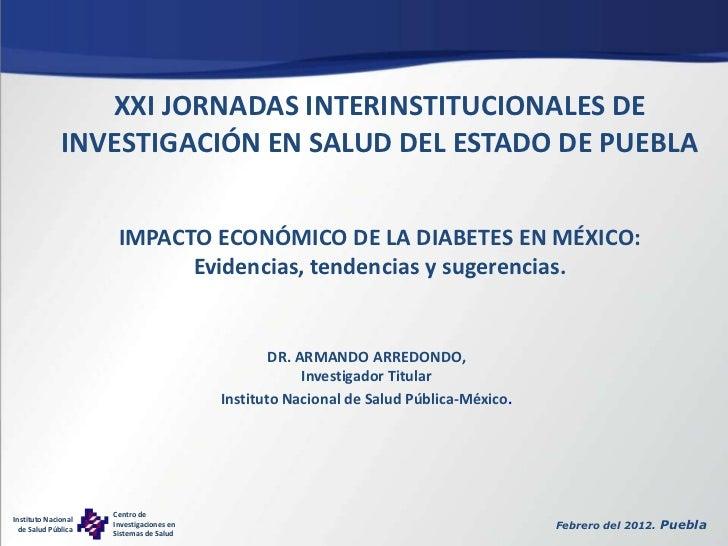 Impacto económico de la diabetes en méxico