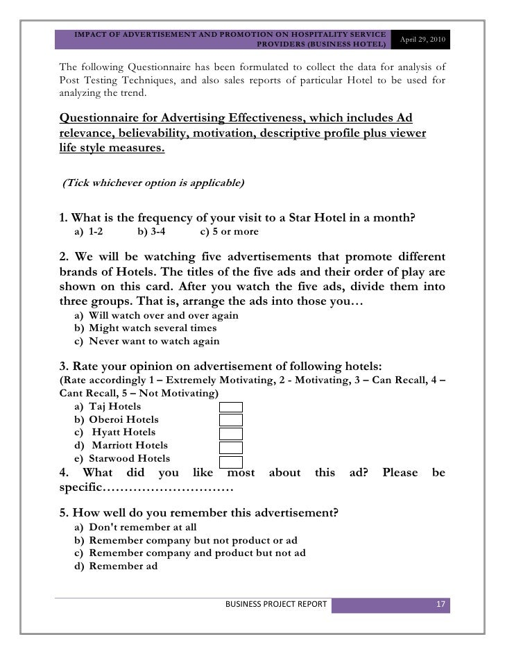 brand loyalty questionnaires Brand loyalty and involvement in different customer levels of a service concept brand  master´s thesis susanna dahlgren 1052011 marketing approved by the head of the department of marketing 1352011 and awarded.