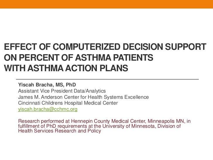 Phd dissertation on asthma
