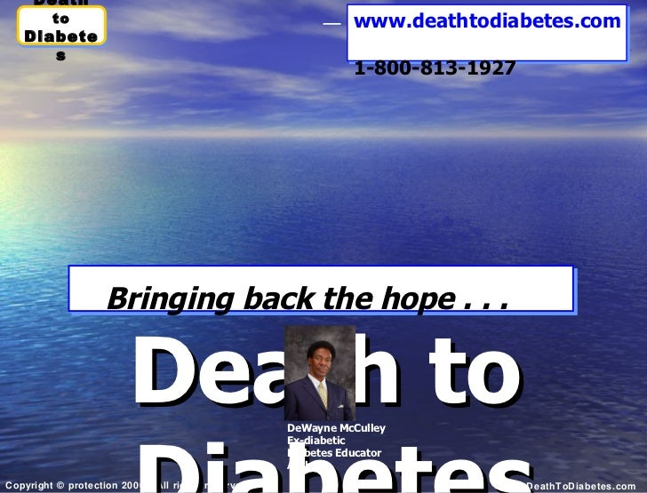 Death to Diabetes: Impact of Type 2 Diabetes