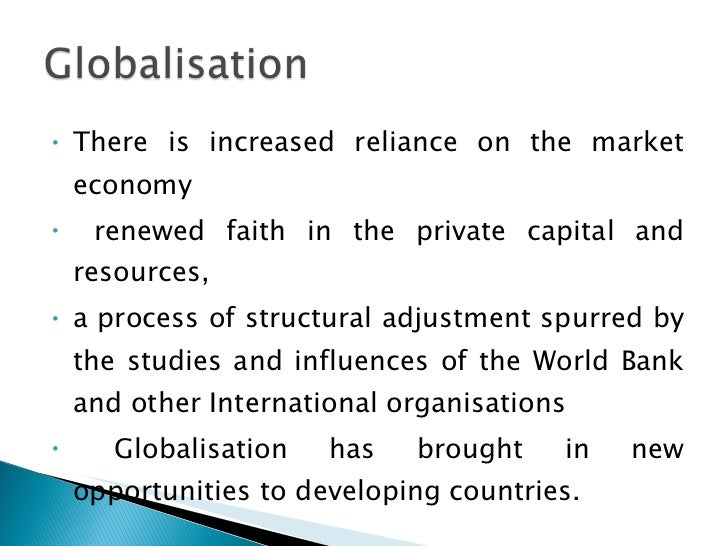 Globalisation and indian economy essay