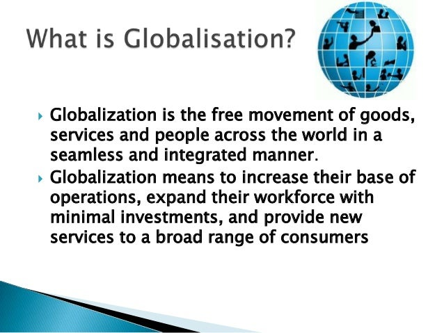 impact of globalization on developing countries Globalization and its effects on developing countries g lobalization - the growing integration of economies and societies around the world - has been one of the most hotly-debated topics in international economics over the past few years.