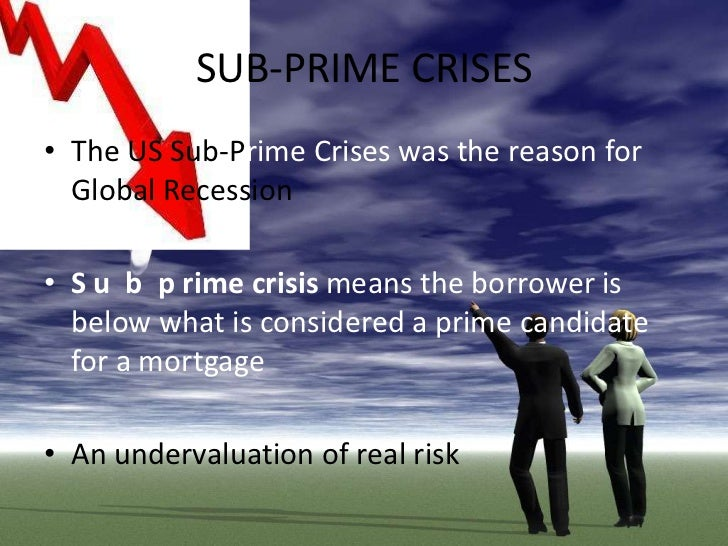 subprime crisis essay In-depth look at the subprime and foreclosure crisis  who authored commissioned papers for us on various structural subprime loans, foreclosure.