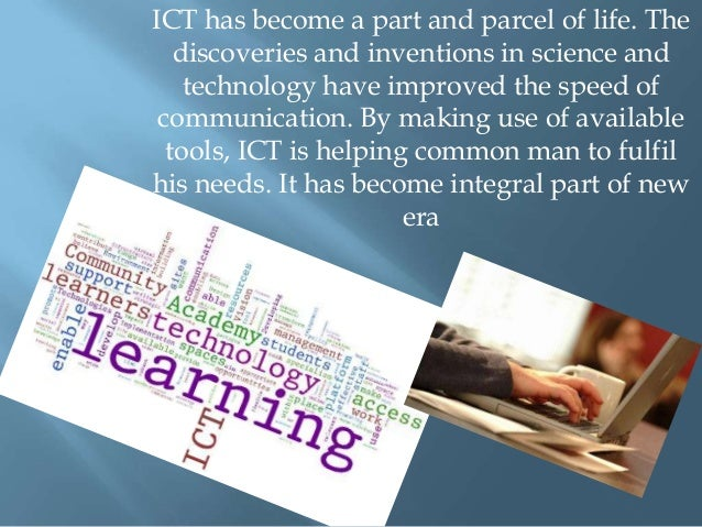 the impact of ict on students' What is the impact of technology on marketing posted on: july 20, 2012 this is a really big and topical subject and i have written various articles on the subject.