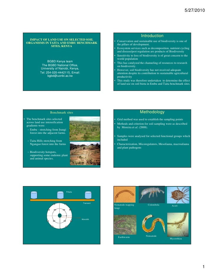 OP05:Impact of land use on selected soil organisms (part1) [compatibility mode]