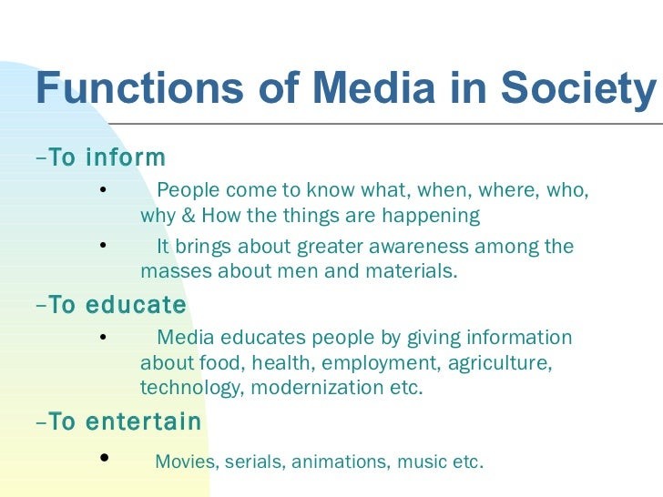 how does mass media affect people in society essay How does mass media affect on society how does mass media affects on society psychological well-being of society people spending hours in front of a.