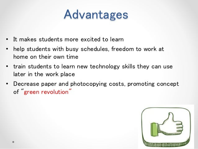 Technology benefits education essay