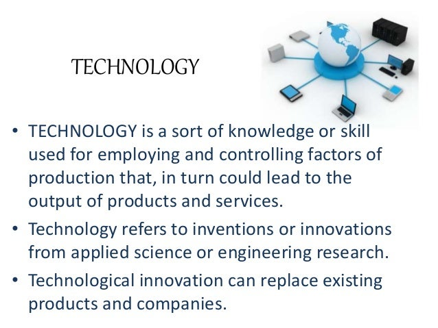 Essay about science technology and innovation
