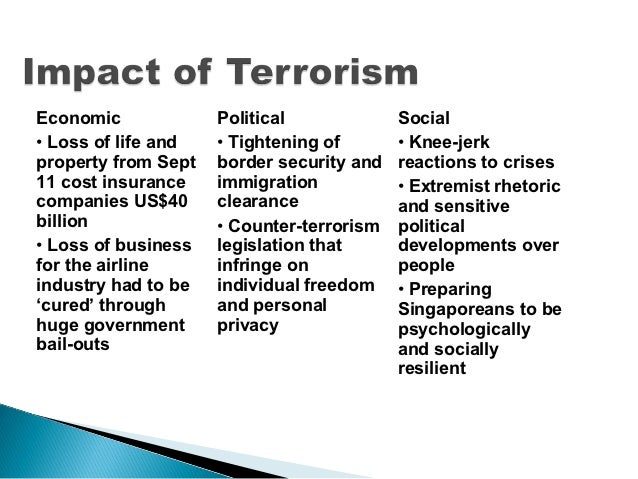 essay on impact of terrorism in india Essay on terrorism in pakistan: its causes, impacts and remedies  and  palestine by indian and israeli forces respectively is further boosting.