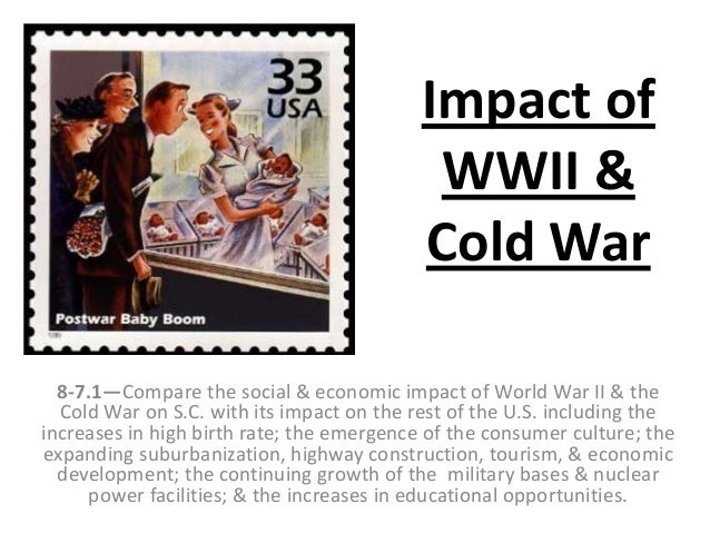 the impact of world war ii on the american economy America's involvement in world war ii had a significant impact on the economy  and workforce of the united states the united states was still recovering from.