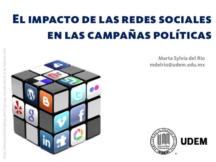 El impacto de las redes sociales                                                                              en las campa...