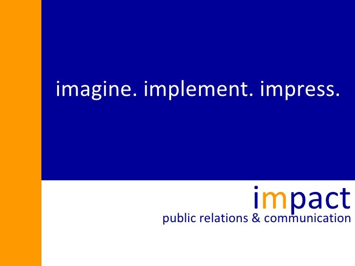 Impact Public Relations & Communications