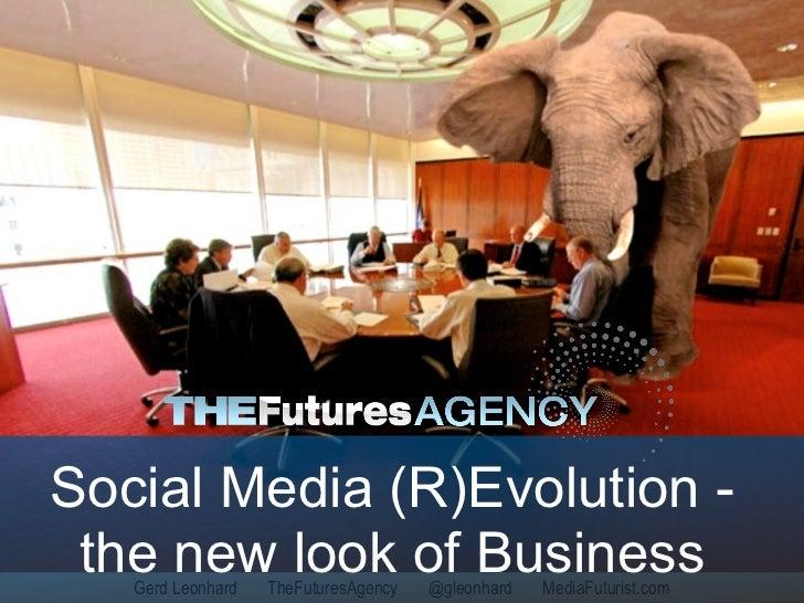 Social Media (R)Evolution (Schwab Impact 2010)