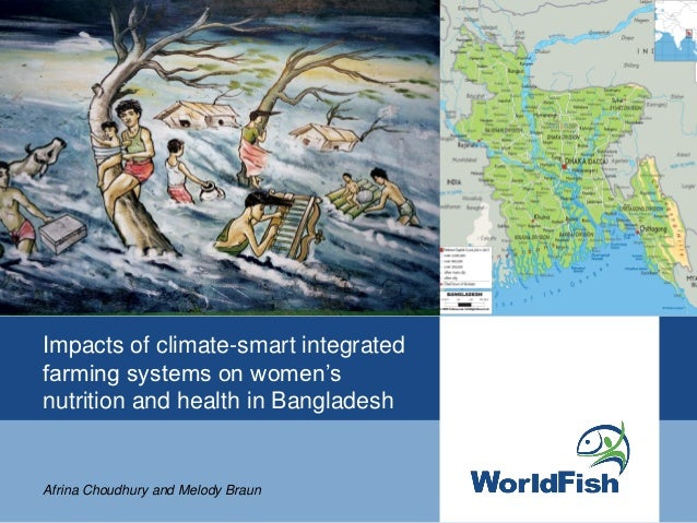 Impacts of climate smart integrated farming systems on women's nutrition and health in Bangladesh