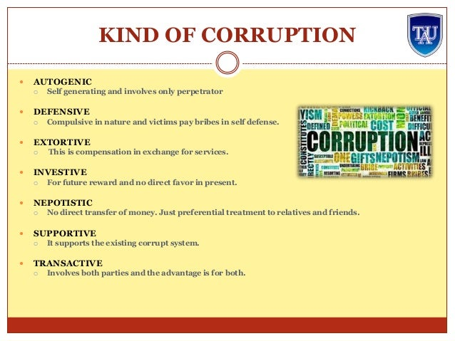 advantages and disadvantages of corruption Corruption is a worm within our society and cancer to economic and political development, but it can also be of benefits to some people to sustain their life and maintain economic advantage here i list some common but realistic advantages of corruption 1 it unite different political, ethnic, religion and.