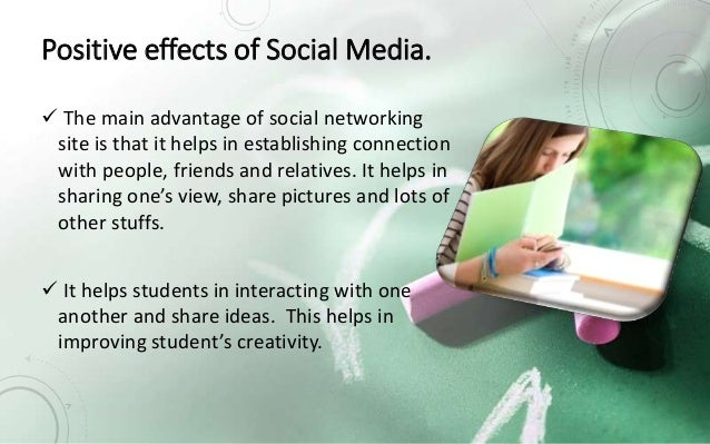 the negative effects of social media essay