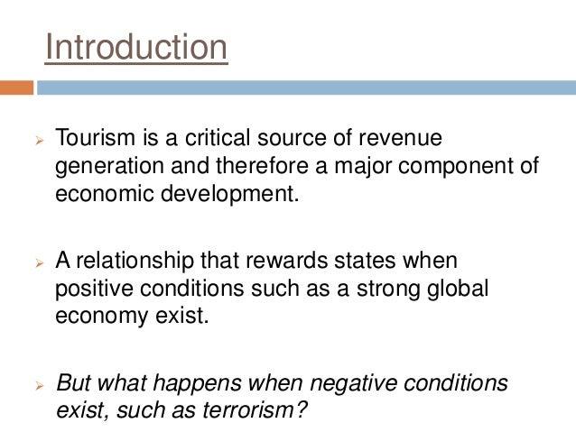 essay on economic senario