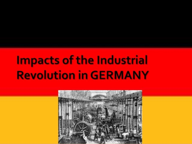 The Industrial Revolution in Germany did not begin until the 1800, well over a century after the change of events in Engla...
