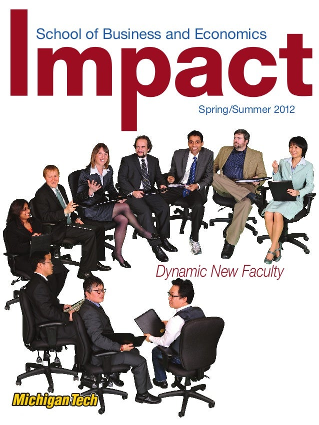 Impact Magazine, School of Business and Economics, Michigan Technological University