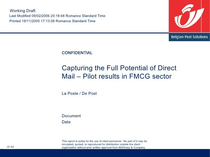 Impact Survey Fmcg Loyalty