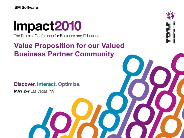 Value Proposition for our Valued Business Partner Community