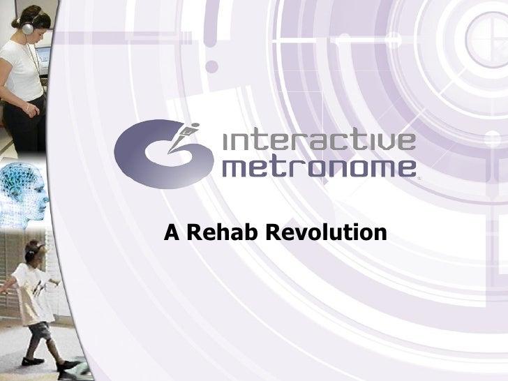 Interactive Metronome: Training to Win