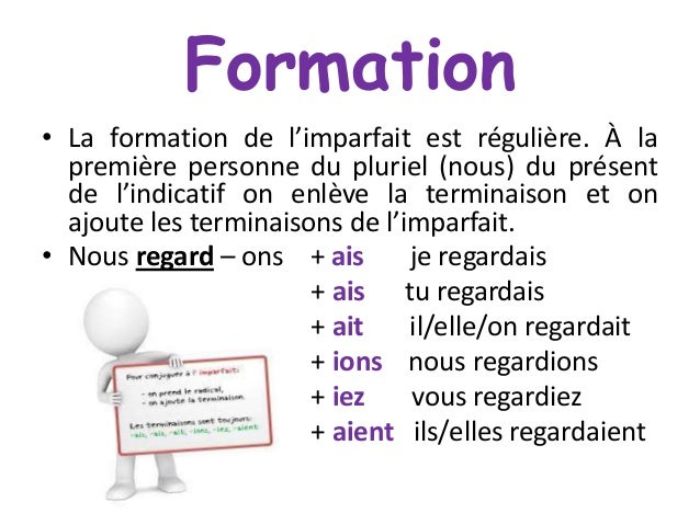Image result for formation de limparfait