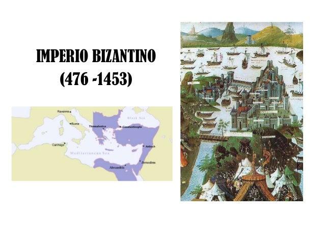 IMPERIO BIZANTINO (476 -1453)