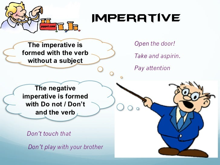 imperative - du00e9finition - What is