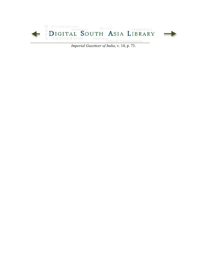 Imperial Gazetteer Of India Jaunpur District