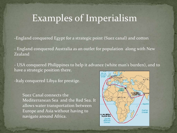 imperialism pros and cons