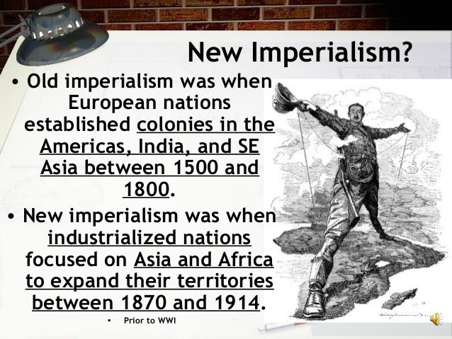 imperialism 1850 1914 in africa New imperialism (1800-1914) study play imperialism-the domination of one country of the political, economic, or cultural life of another country or region  how did imperialism in africa in 1850 compare with that in 1914 more colonies were taken over by 1914 which two colonies remained independent even after the scramble for africa.