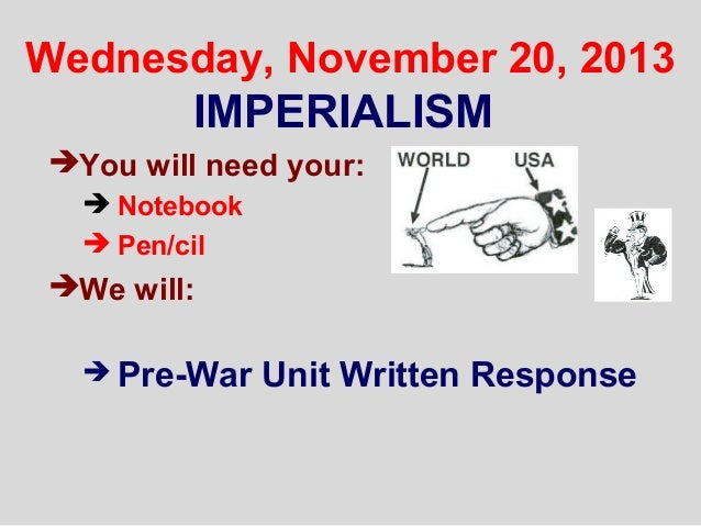 write an essay on colonialism and imperialism