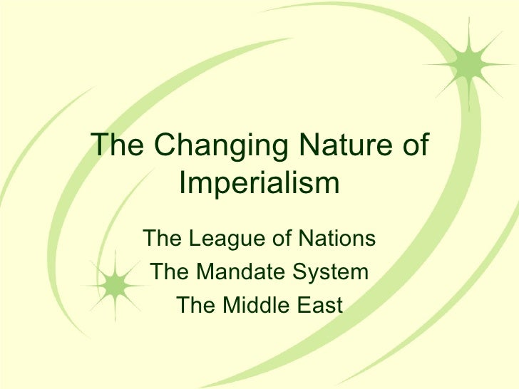 Imperialism middle east