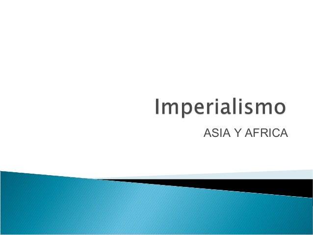 ASIA Y AFRICA