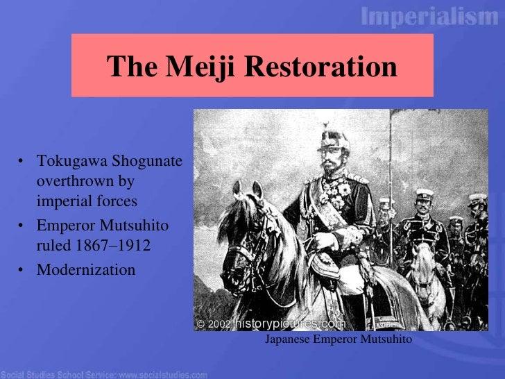 Meiji Restoration Essay