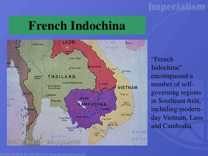 french imperialism in vietnam The french in indochina  the french civilization in vietnam — government in vietnam's cities, the french took all of the high government positions.