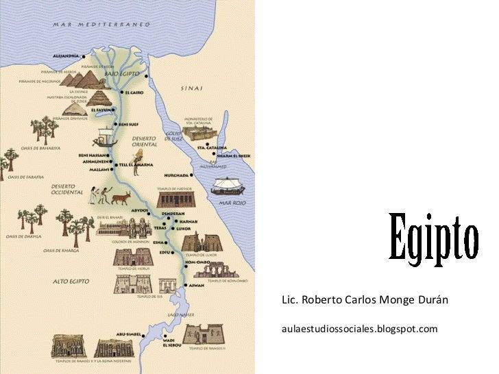 Imperios teocráticos de regadío (Egipto) 1